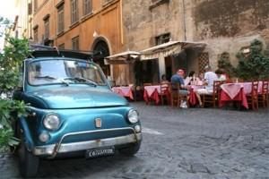 Rome en voiture
