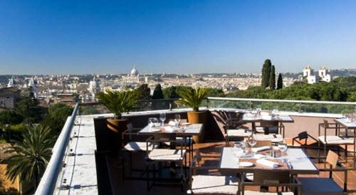 Restaurant la Terrasse à Rome
