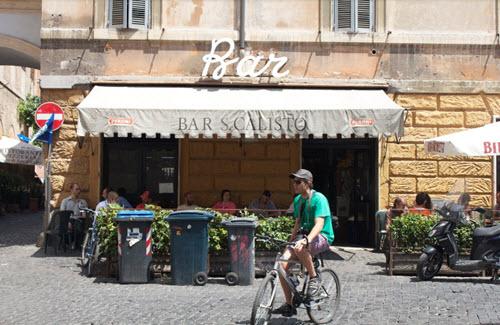 Restaurant Trastevere Pas Cher