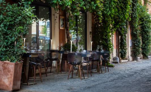 Découvrez le restaurant incontournable Per Me de Rome
